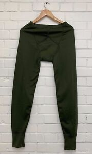 British Army Thermal Long Johns Olive Underwear Base Layer New