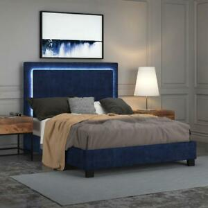 Summer Sale!! Contemporary Bed with LED Light Edmonton Area Preview