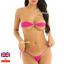 Micro-Bikini-Women-Brazilian-G-String-Set-Thong-Swimwear-Swimsuit-Small-to-3XL miniatura 10