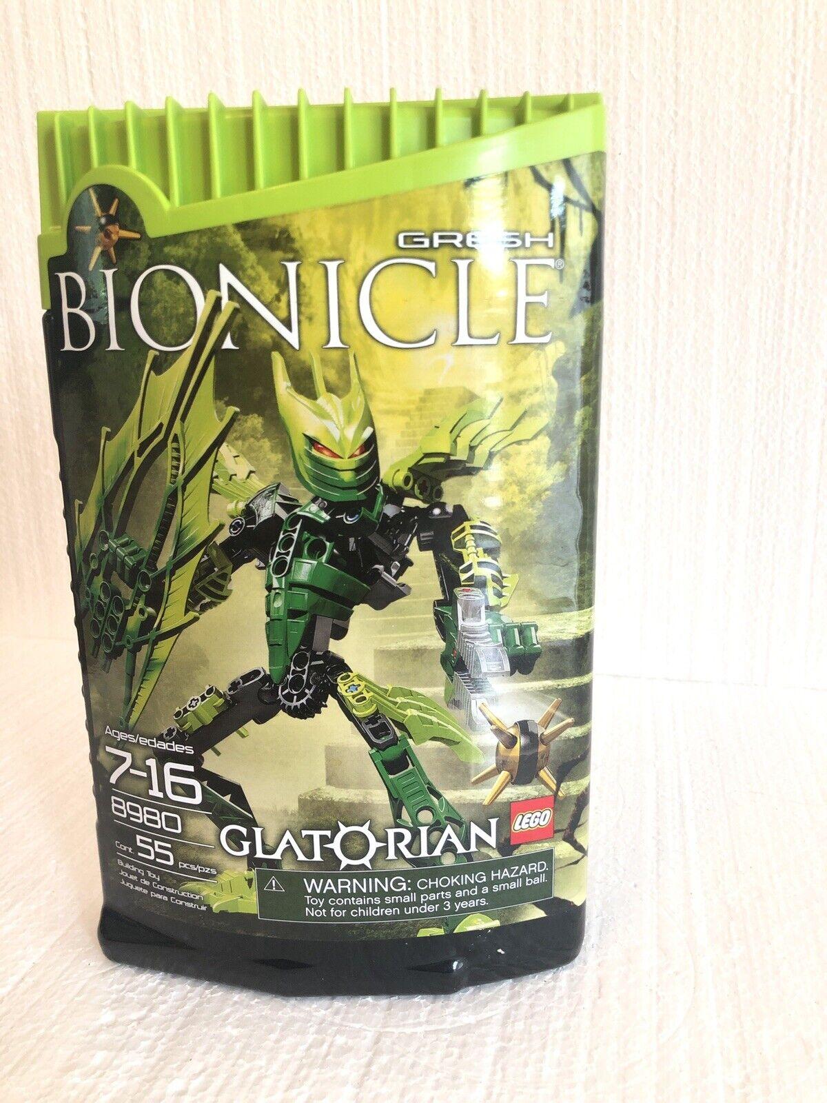 Lego Bionicle 8980 Glatorian Gresh New & Sealed.