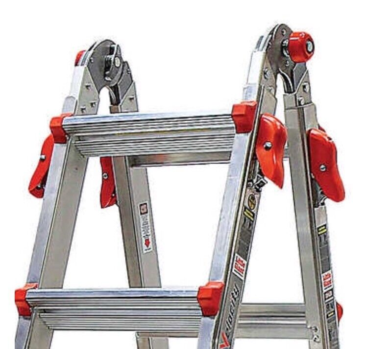 Little Giant Velocity Ladder with Wheels, 22' Extension, NIB SHIP FROM STORE