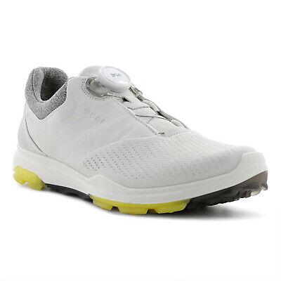 NEU 2020 Ecco Biom Hybrid 3 GTX (Gore Tex) BOA Damen Golfschuhe, Weiß Grau | eBay