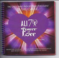 Muhammad Ali 70th Birthday On Site Gala Program 2012   Boxing