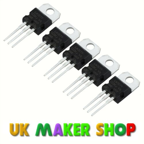 LM317T Voltage Regulator Pack of 5