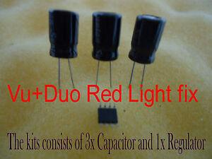 Vu-Duo-Red-Light-fix-repair-Regulator-U801-Capacitor-C807-VU-Z1021AI-AOZ1021-Fix