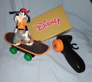 Disney Goofy R C Skateboard Toy By Toy Island With Ramp Ebay
