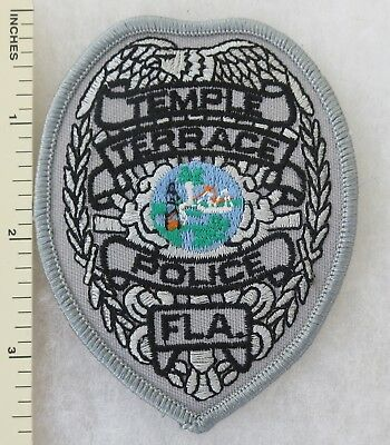 Florida Police Patch Temple Terrace 1925