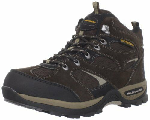 Skechers USA Mens Bomags Calder Lace-up Stiefel- Pick SZ Farbe.
