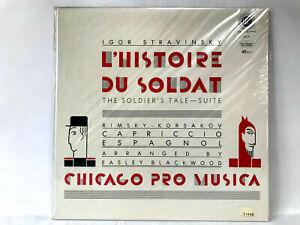 LP-Igor-Stravinsky-The-Solder-039-s-Tale-Suite-45rpm-RARE-BRAND-NEW-MINT