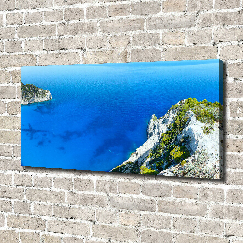 Leinwandbild Kunst-Druck 140x70 Bilder Landschaften Zakynthos