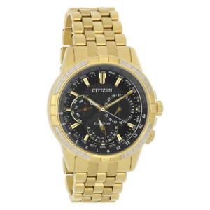 Citizen-BU2082-56E-Men-039-s-Calendrier-Diamond-Bezel-Eco-Drive-Watch