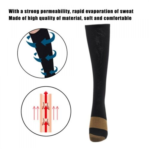 Anti-Fatigue Compression Socks Soothe Tired Achy Unisex Foot Pain Relief Sock