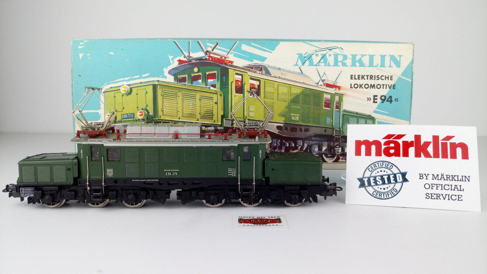 MARKLIN H0 3022 - E-LOK E94 276 - TESTATO - MOLTO BUON STATO - ÖVP - TOP-
