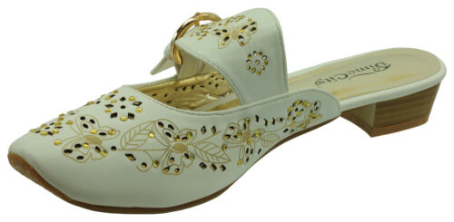 Ann Creek Women/'s /'Lucie/' Metallic Embroidered Slip-on Shoes