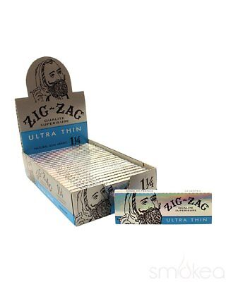 32 Leaves // Papers Each Pack 2x Packs Zig Zag Double Wide Slow Rolling