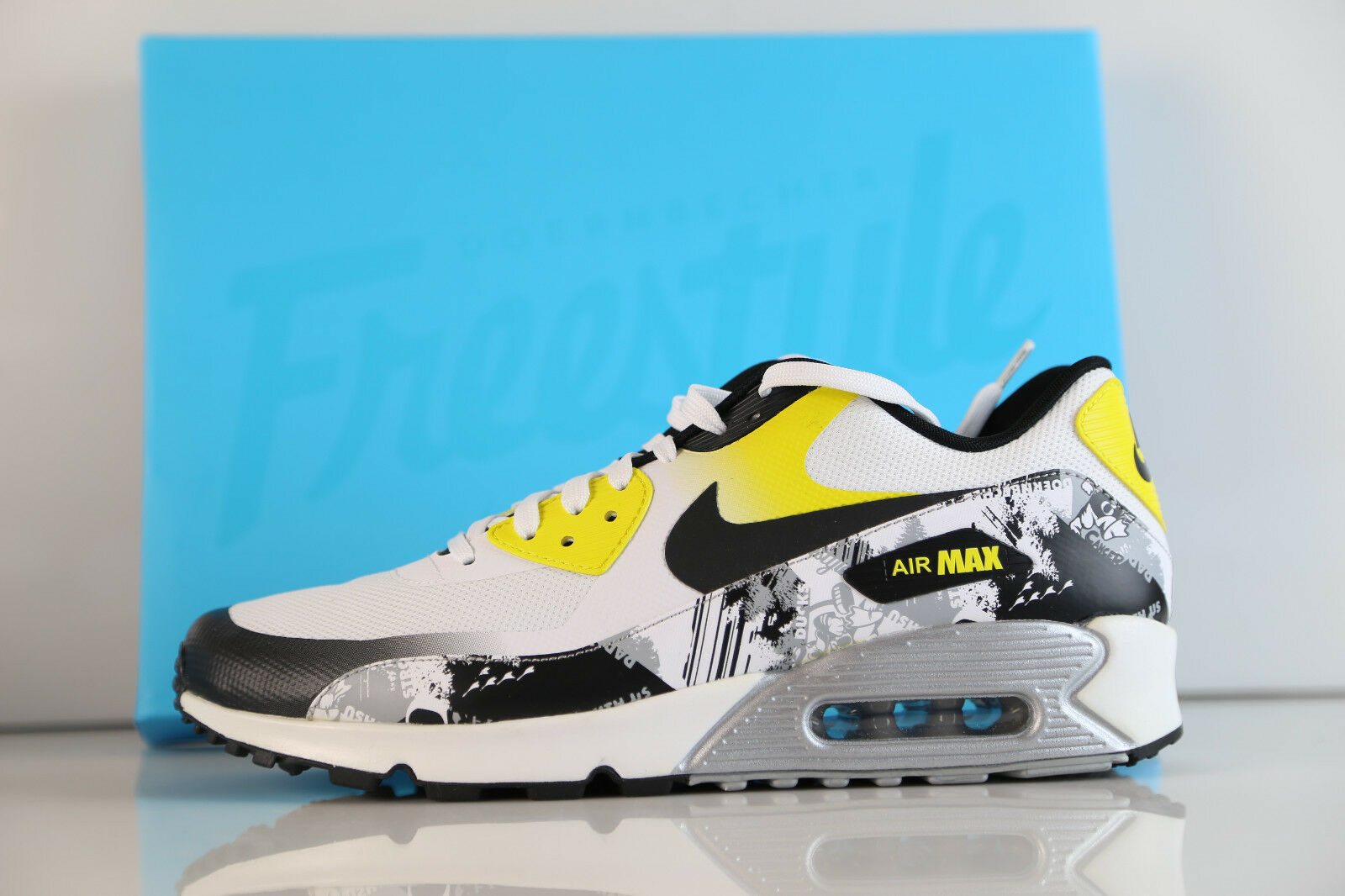 nike doernbecher air max 90 ducks prime pb oregon ducks 90 Blanc  Jaune  ah6830-100 7 - 12 0ad4bc
