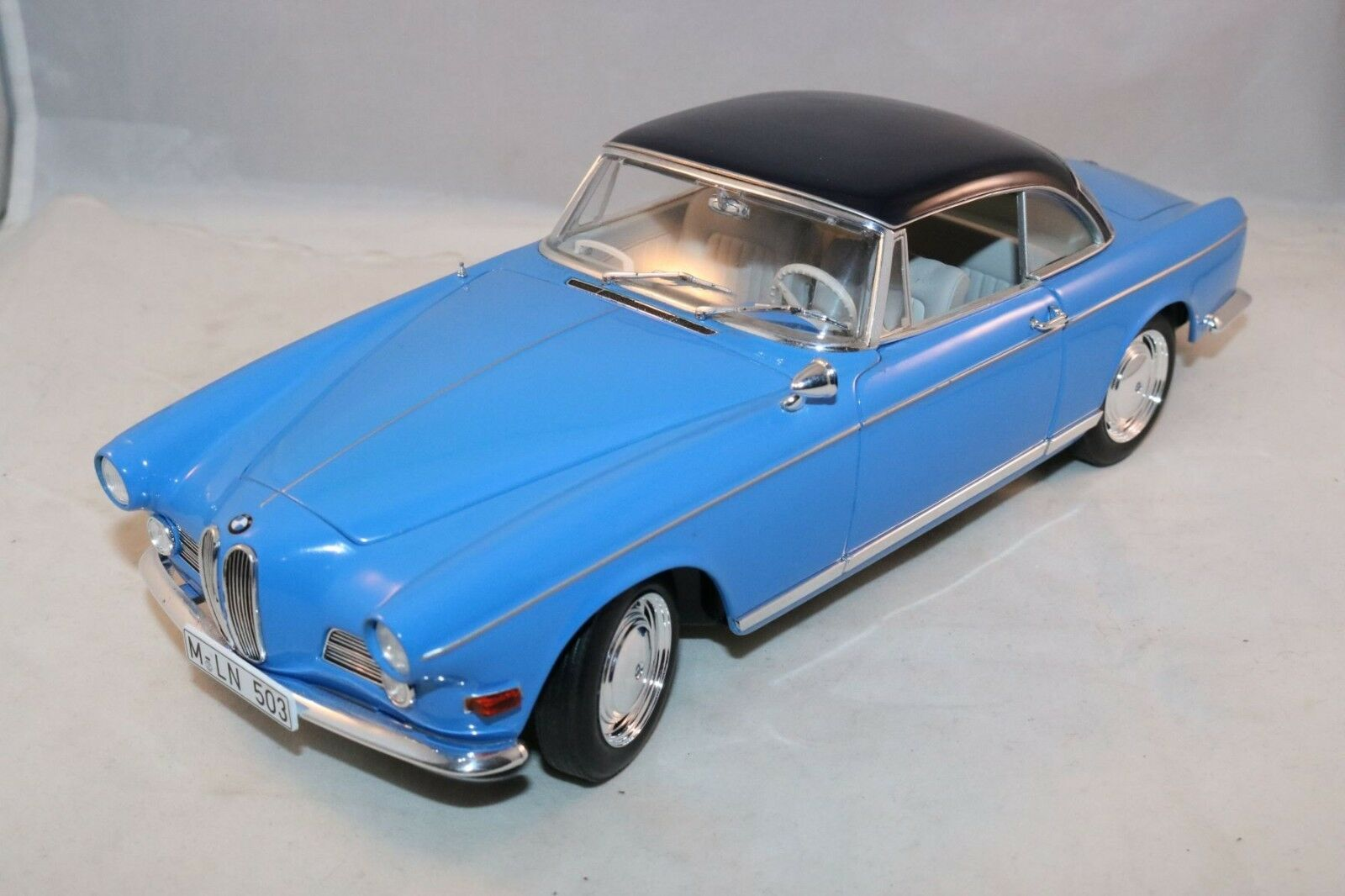 JADI BMW 503 Coupe  1956  (blue bluee) 1 18 99% mint all original condition