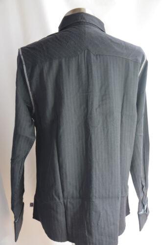 English Laundry Mens Shirt John Lennon Imagine Art Inspired Black MED NEW NWT n3