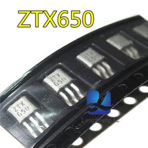 5pcs-ZETEX-ZTX650-TO-92-NPN-SILICON-PLANAR-MEDIUM-POWER