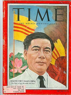 Time Magazine South Viet Nam's Diem April 4, 1955