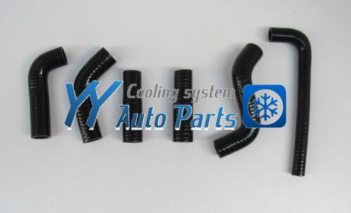 KTM 400EXC 525EXC 2002-2006 Silicone Radiator Hose Kit Black 02 03 04 05 06