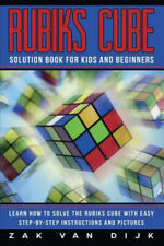 Rubiks Cube Solution Book for Kids and Beginners: Learn How to Solve the