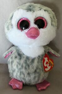 "NEW MWMT Claire/'s Exclusive OLIVE the Penguin 6/"" Ty Beanie Boos"
