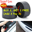 5CM-1M-Car-Sticker-Carbon-Fiber-Door-Sill-Protector-Edge-Guard-Strip-UK thumbnail 1
