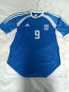 best sneakers 35263 2a6c5 Details about Adidas Greece National Team Home Football Shirt 2003/2004 L  #10 Charisteas