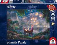 Schmidt Disney Puzzle Thomas Kinkade Rapunzel Tangled 1000 Pcs 59480