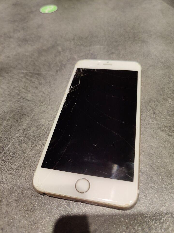 iPhone 6S Plus, 64 GB, guld