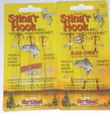 "-6//Pk Northland Tackle 2 3//8/"" Mono Single Sting/'r Red Trailer Hooks"