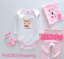 22-034-Reborn-Baby-Girl-Clothes-Newborn-Bebe-Doll-Clothes-Not-Included-Doll-Cute thumbnail 1