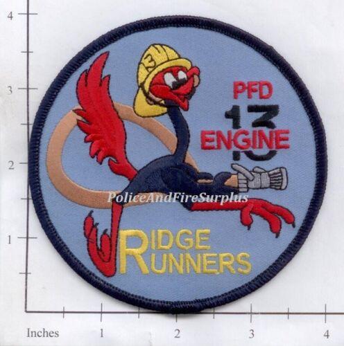 Philadelphia Engine 13 PA Fire Dept Patch Pennsylvania Road Runner