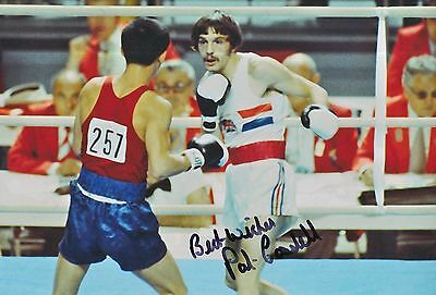 A Great Variety Of Goods Olympic Memorabilia Disciplined Pat Cowdell Hand Signed Olympics 12x8 Photo Other Olympic Memorabilia