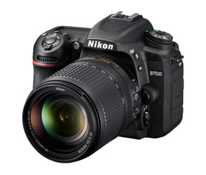 "Nikon D7500 18-140mm 20.9mp 3.2"" DSLR Digital Camera Brand New Agsbeagle"