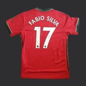 Fabio Silva Wolverhampton Wanderers Signed  20/21 Shirt