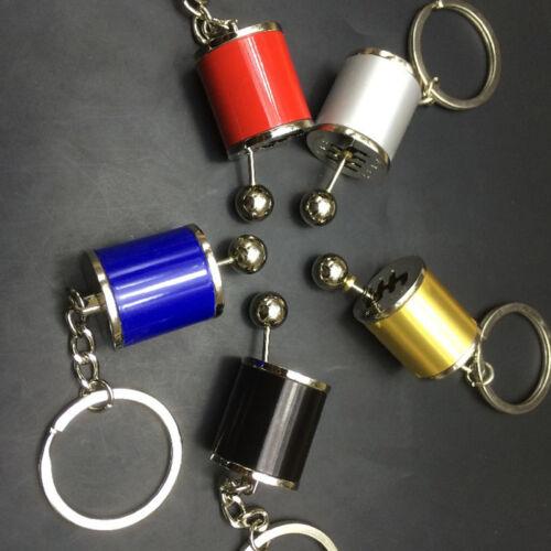 UNIQUE Nouveau Alliage Gearshift Gear shift Keychain Gear Head Keychain Keyring