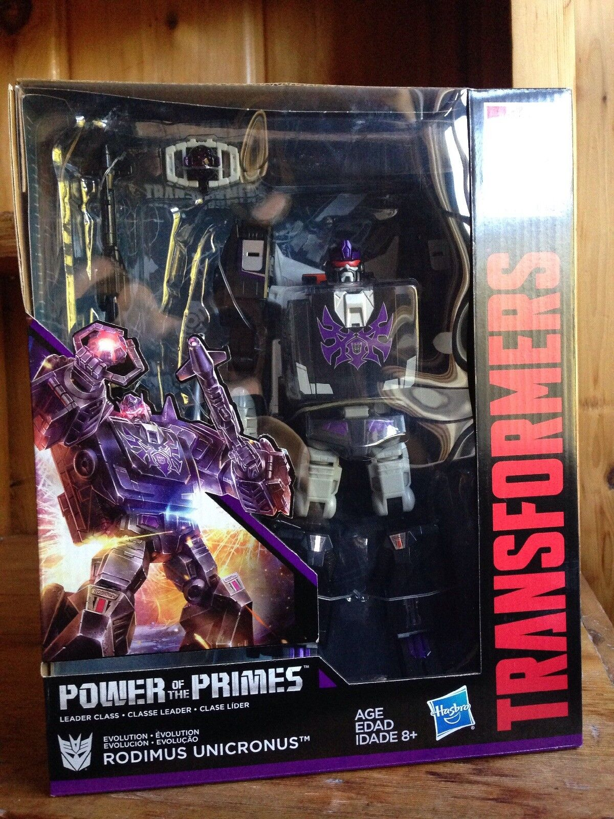 Transformers Power of the Primes POTP Unicronus Leader MISB Rodimus