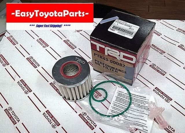 TRD RACING OIL FILTER  2005-2012     4 CYL AND V-6     OEM TOYOTA  PTR43-00082