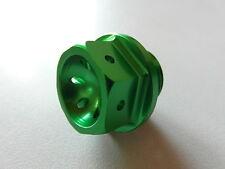 Kawasaki ZX10R 06 07 08 09 10 11 12 13 14 15 16 Tappo dell'olio 08A verde