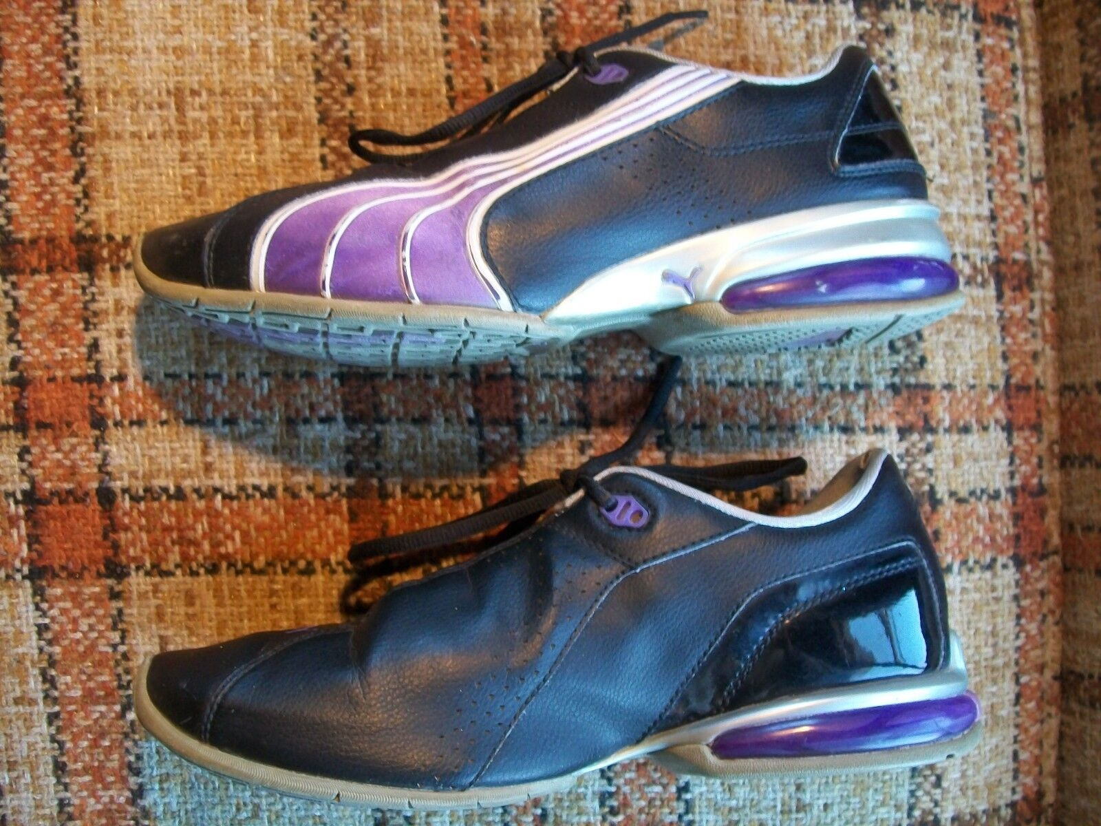 Puma Black Womens Size 9 () Black Puma Purple Shoes 185263 03 32eefa