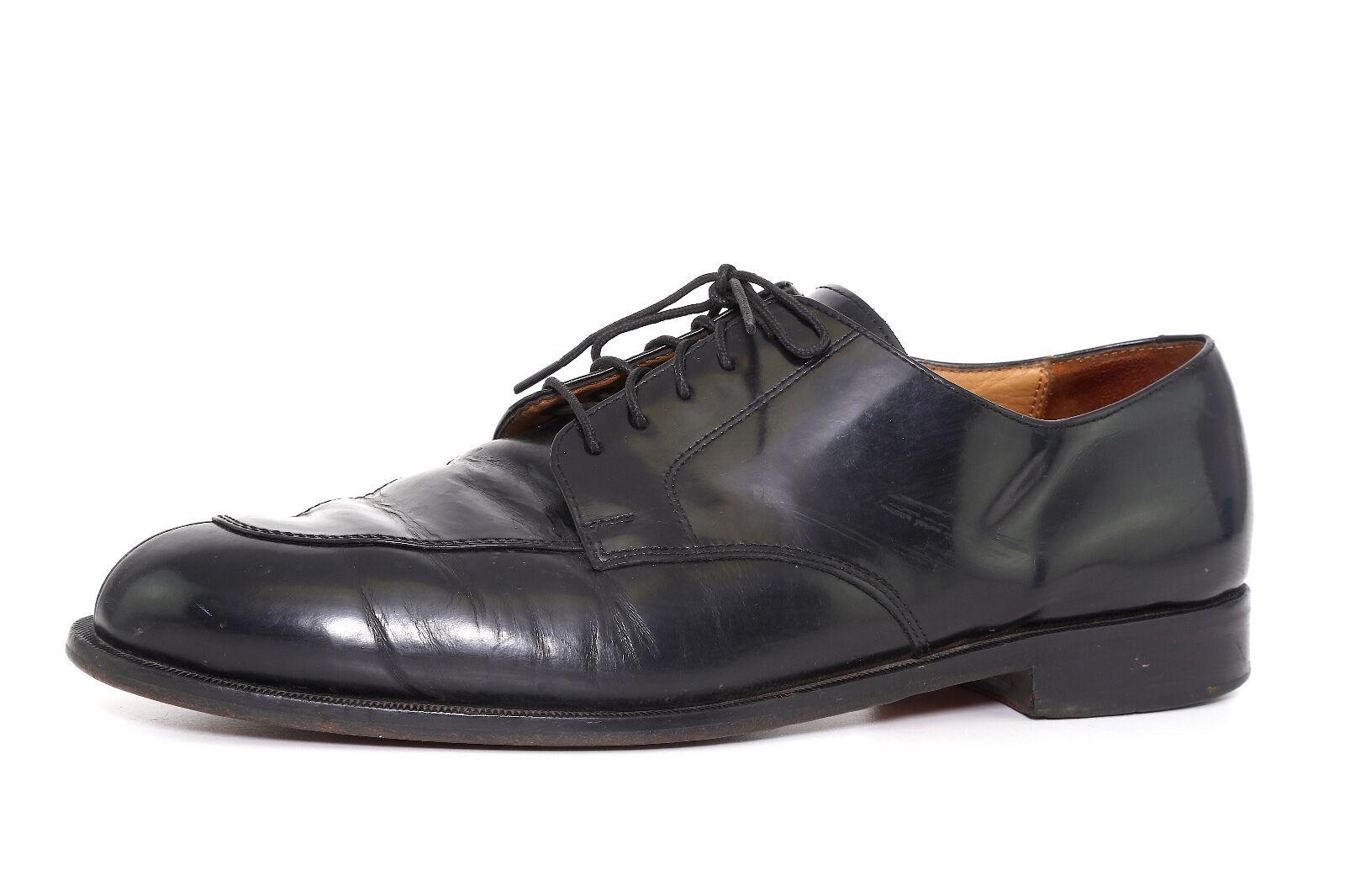 la migliore offerta del negozio online Cole Cole Cole Haan Uomo nero Leather Split Toe Oxfords 7629 Sz 10 EEE  negozi al dettaglio