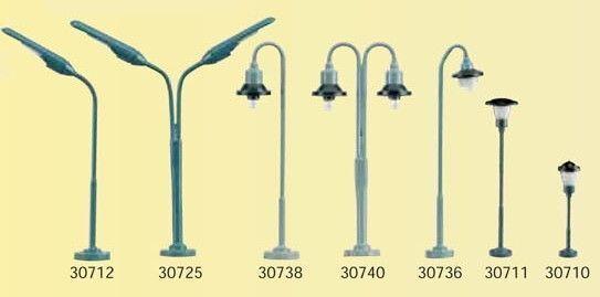 10 PZ Kahlert LAMPIONI zweiflg. scala N 30725 NUOVO ottone RAPIDA connessione