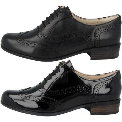 Clarks Hamble Oak Schuhe Damen Budapester Halbschuhe Leder Schnürschuhe 20350649