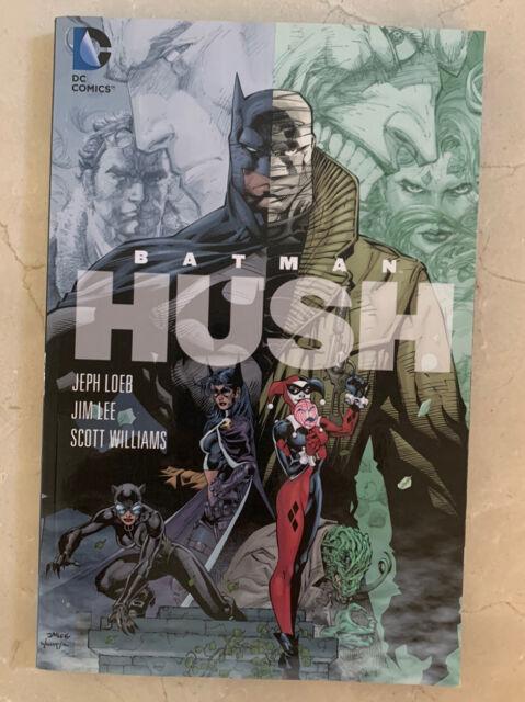DC Comics Batman - Hush by Jeph Loeb (2009, Paperback) L@@k!!!