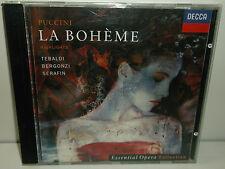 436 312-2 Puccini La Boheme Tebaldi Bergonzi Bastianini Highlights
