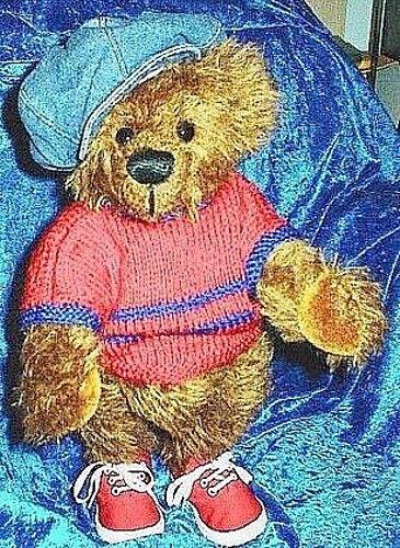 "Teddyschnitt - Schnitt-& Nähanleitung ""Leon"" 39 cm"