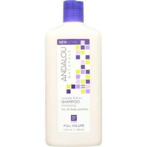 ANDALOU NATURALS: Full Volume Shampoo Lavender and Biotin, 11.5 Oz