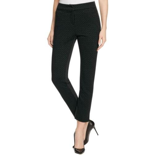 Finity Womens Glitter Textured Quilted Ankle Pants BHFO 9180